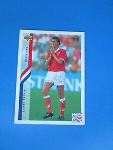 BOSMAN-NEDERLAND-HOLLANDE-PAYS-BAS-Carte-Card-UPPER-DECK-USA-94-1994-panini