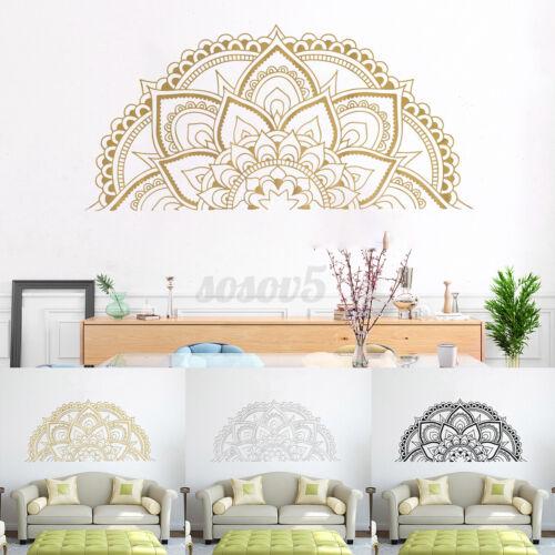 Half Mandala Sticker Wall Decal Decor Art Living Room Bedroom Mural New