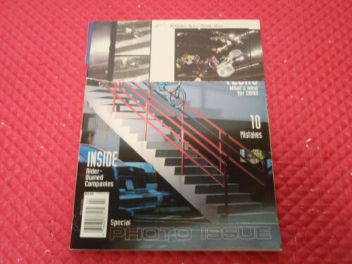 FEBRUARY 2002 MAGAZINE VOLUME 25 NO.2 VINTAGE ORIGINAL BMX PLUS