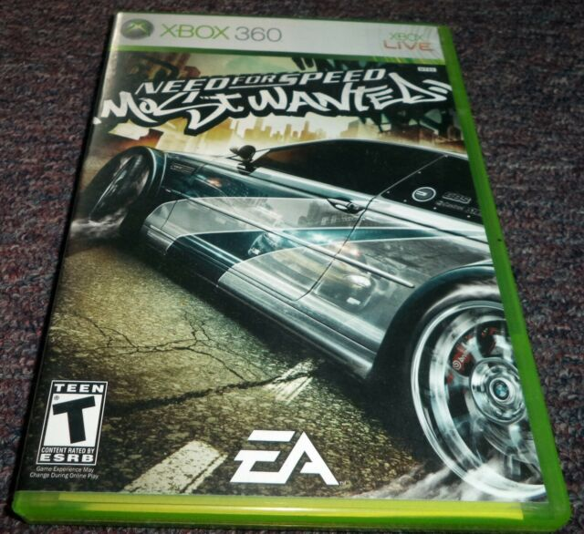 Need For Speed Most Wanted Xbox 360 For Sale Online Ebay