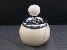 Schöner alter Aschenbecher Keramik Baseball