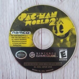 Pac-Man-World-2-Namco-Nintendo-GameCube-GAME-DISC-ONLY-Tested