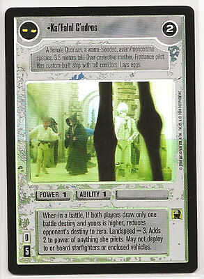 SWCCG Star Wars CCG Reflections 2 II Smoke Screen FOIL SRF