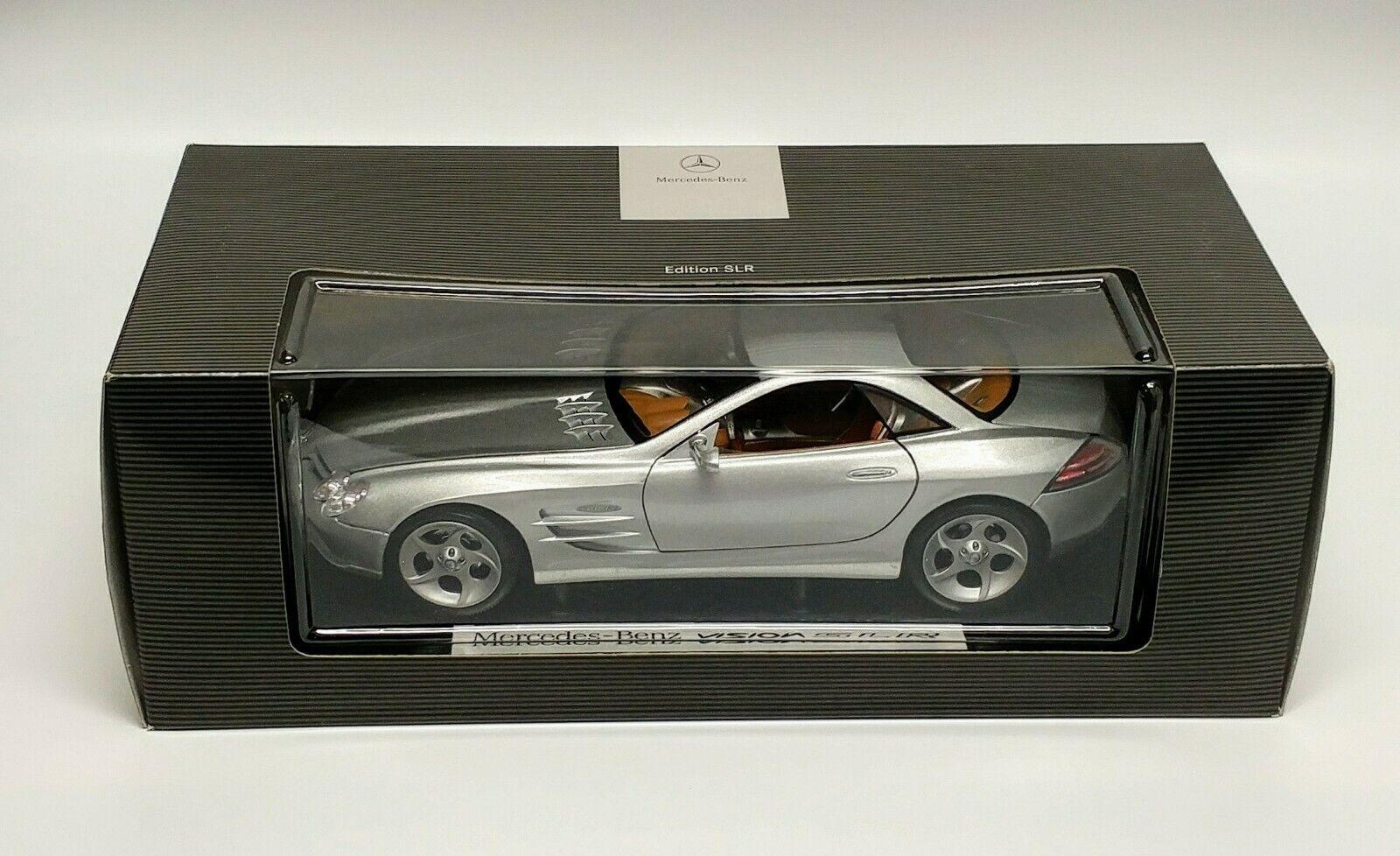 rivenditori online 1 18 1999 Mercedes Benz Vision SLR SLR SLR Concept Coupe Dealer scatola edizione by Maisto  vendita di offerte