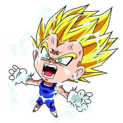 Kid Goku Sticker 4x3