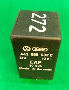 AUDI-VW-6-PIN-NO-272-BLACK-Control-Unit-Relay-Module-443955532C