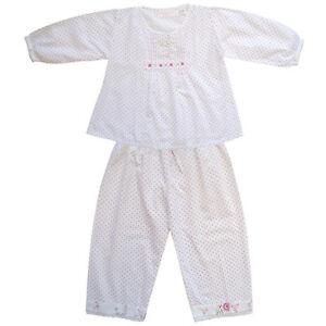 100-Pijama-de-algodon-maudie-lunares-amp-Rosas-Powell-Craft-Edad-2-9