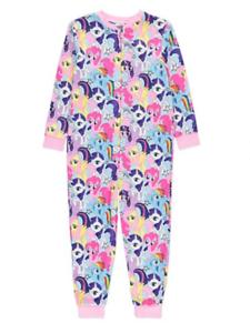 Ladies My Little Pony Pyjamas Ladies Official Long Leg Short Sleeve