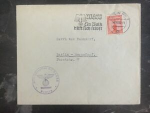 1938 Berlin Germany Advertising Cover Domestic Used