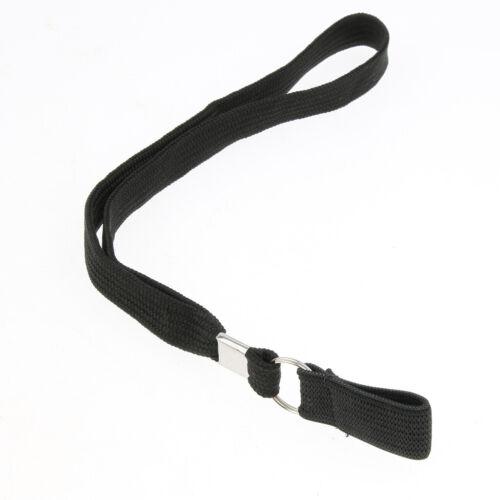 6 lot Elastic Anti-lost Walking Stick Canes Wrist Straps Clip Belt Band Grip Aid