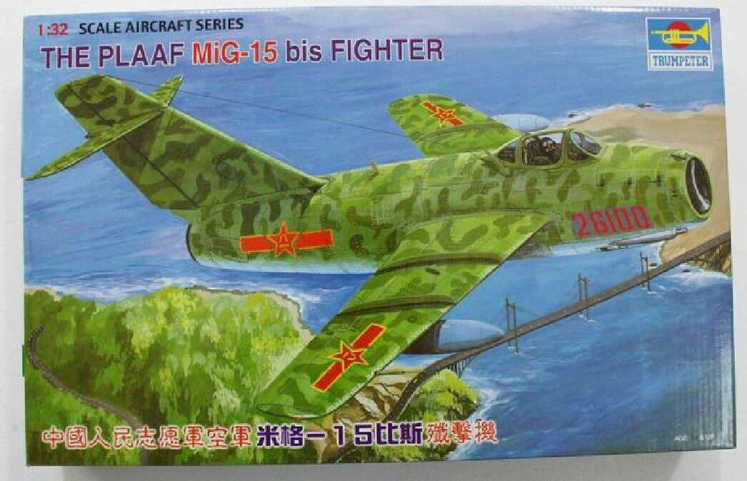 02204 Trumpeter 1 32 MIG15 Fighter Airplane Plastic Model Aircraft Battle Plane