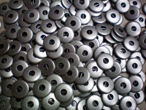 MB114-MB117 11mm 12mm 14mm 15mm argent antique métal 2 trous industriel boutons