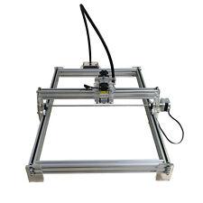 7000mW CNC Laser Graviermaschine, 35x50cm Graviergerät, f. Metall Holz Gravieren
