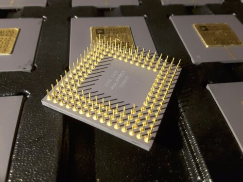 GOLD ANALOG DEVICES ADSP-3222JG 32 BIT DSP FLOATING POINT PROCESSOR CPGA144 $59