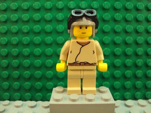 Lego Minifig Star Wars ~ Young Anakin Skywalker ~ From Set 7141 #xz67y