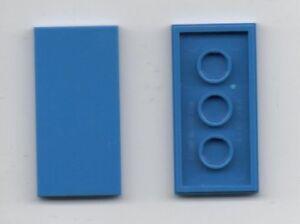 Lego Basic Technique Technic 15 Panels 2x4 #3020 Blue