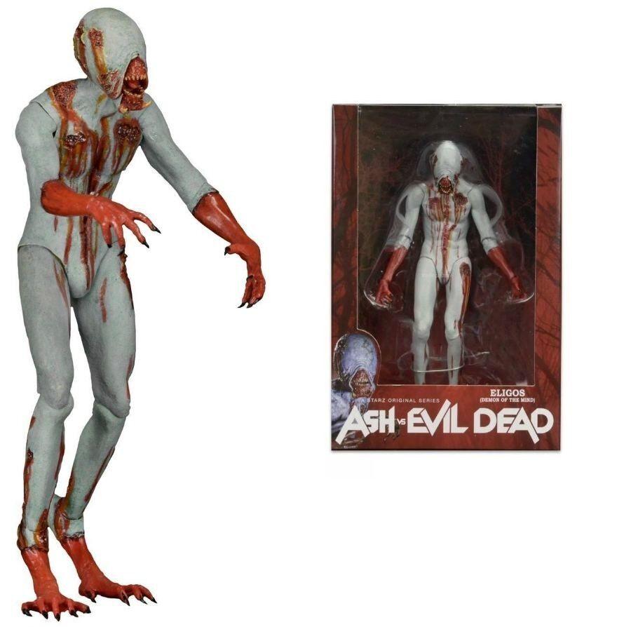 Ash vs Evil Dead Eligos Action Figure Neca 18 cm Nuovo