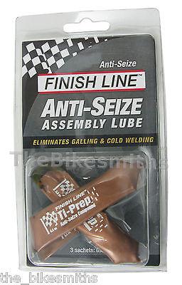 Finish Line Anti-Seize Assembly Lube 3 x 6.5cc Sachets