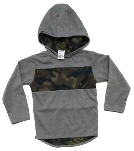Ex-Chain-store-Boys-Kids-Childrens-Hooded-camouflage-top-2-3-4-5-6-Years-old