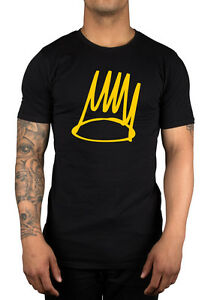 J-Cole-Born-Sinner-Logo-T-Shirt-Clothing-Rap-Hip-Hop-Forest-Hills-Drive