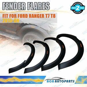 New-Design-Wrinkle-Fender-Flares-Wheel-Arch-For-Ford-Ranger-T7-T8-2015-ON