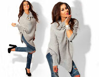Damen Cardigan Strickjacke Pulli Pullover Poncho Neu Gr.36 38 40 S M L