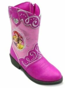 b39013d9450 Details about Disney Princess Toddler Girls Western Cowboy Boots-Toddler  SIZE 7-FREE Shipping