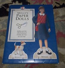 American Girl *MOLLY PAPER DOLL COLLECTION SET* NEW-Uncut~Fast Shipping
