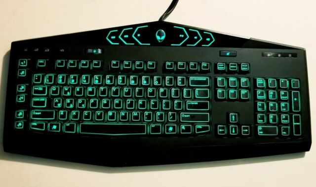 Dell Tactx Alienware Usb Gaming Keyboard Uk Layout For Sale Online Ebay