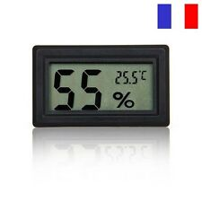 THERMOMETRE HYGROMETRE Humidité Digital LCD Frigo Congelateur Piscine Tabatière