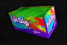 Wonka Fun DIP Candy ( Lik-m-aid ) 2 Boxes 96 Pouches Birthday Party Favors