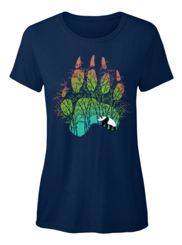 Latest Panda Track Standard Women/'s T-shirt Standard Women/'s T-shirt