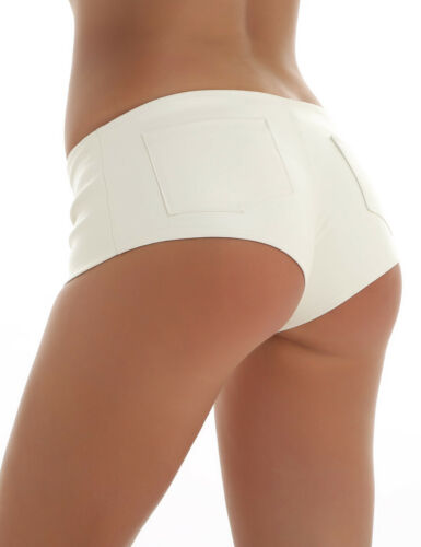 Women Pants Tight Mini Shorts Stage Dance Bottom Night Club Wear High Waisted