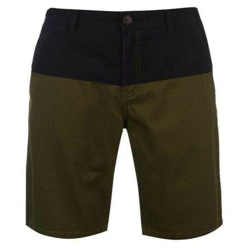Mens Designer Pierre Cardin Stylish Panel Chino Shorts Bottoms Size S M L XL XXL
