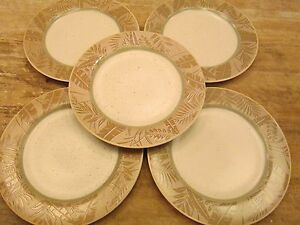 Image is loading Set-5-EPOCH-Collection-PANAMA-Pattern-10-75- : palm leaf dinnerware - pezcame.com