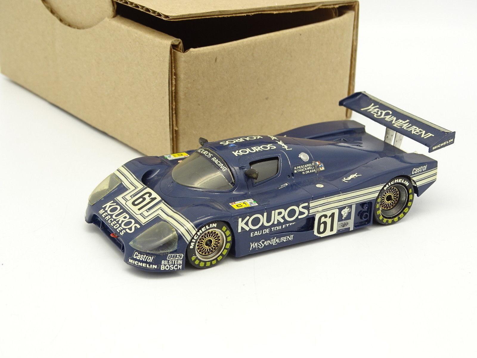 Kit Montado Sb 1 43- Sauber C9 Car Kouros Mercedes Le Mans 1987