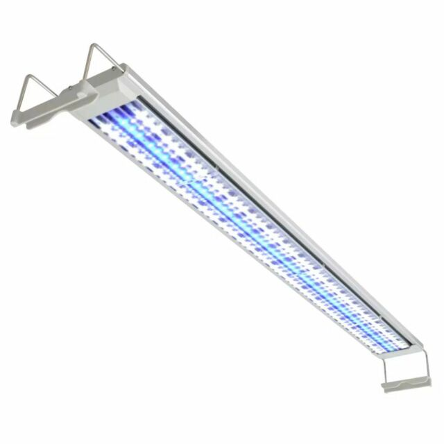 vidaXL Lampe à LED Aquarium Aluminium Poisson Luminaire Éclairage Lumière