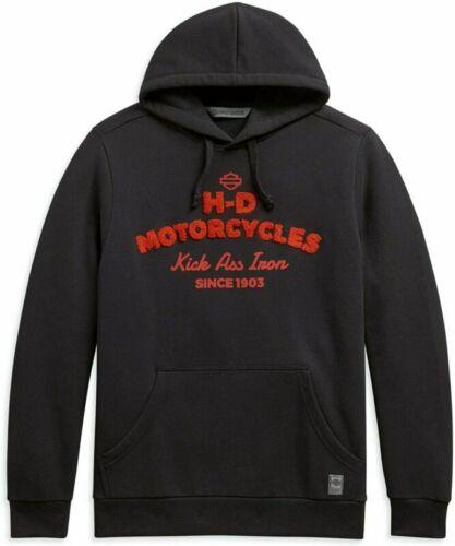 Harley-Davidson Men/'s Motorcycle Slogan Slim Fit Pullover Hoodie X-Large