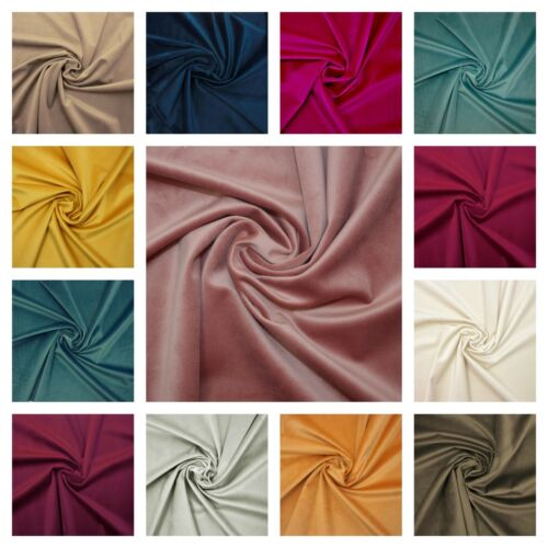 Soft Luxurious Dressmaking New Designer Colours French Fashion Velvet Fabric