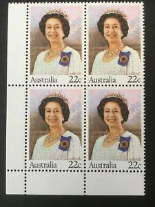 1980-Birthday-of-Her-Majesty-Queen-Elizabeth-II-MUH-Corner-Block-of-4