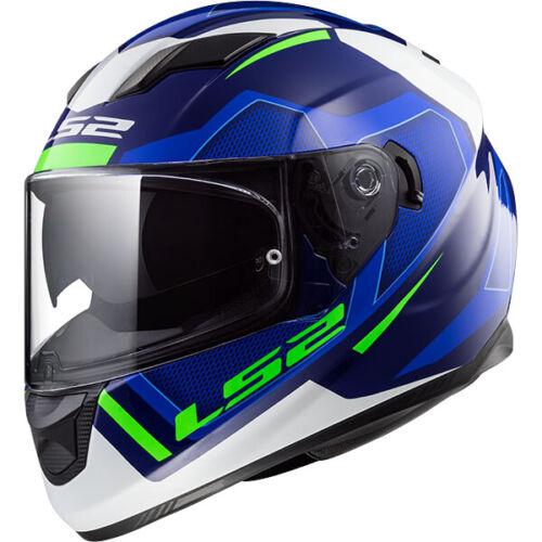 LS2 FF320 Stream Evo Kub Full Face Motorcycle Scooter Crash Helmet Black Red