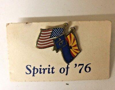 76 tie tack vintage political tie tack bi centennial tie tack political rally spirit of 76