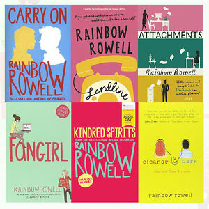 Rainbow Rowell Collection 6 Books Set Fangirl Kindred Spirits
