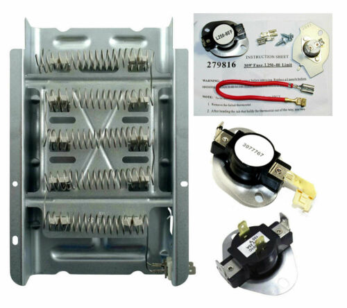 8565582 279838 3977393 3977767 3387134 279816 Heater and Thermostats
