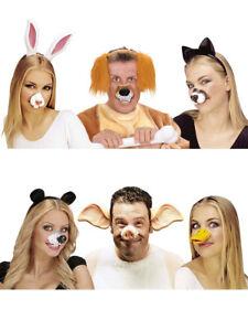 Tierische Nase Accessoires Kostum Fasching Karneval Ebay