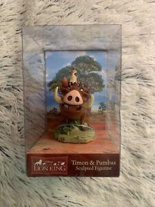 Disney-Lion-King-PUMBAA-amp-TIMON-Simba-Pals-Enesco-Sculpted-Figurine-Figure-Pumba