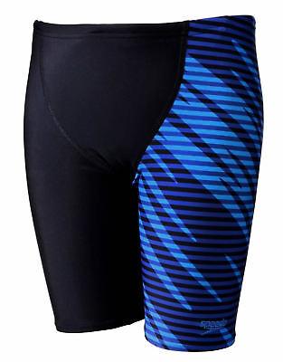 Simbolo Del Marchio Speedo Model V Taglio Pannello Boys Jammer Nero/blu Chroma Nuotare Pantaloncini-mostra Il Titolo Originale 2019 Ultima Vendita Online Stile 50%