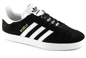 Details about *NEW - ADIDAS ORIGINALS GAZELLE Mens Sneakers - Black/White (BB5476)