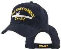 Uss John F. Kennedy Cv-67 Hat / U.s. Navy big John Baseball Cap 5330