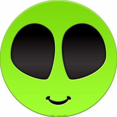 Area 51 Sign VISITORS CENTER--Crosswalks Metal 10 X 15 UFO Alien Roswell E.T